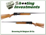 Browning A5 64 Belgim 20 Gauge VR looks unfired!