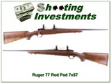 Ruger 77 Red Pad Tang Safety in 7x57