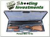 Perazzi MX3 12 Gauge 2 barrel Trap set in case