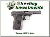 Savage 1907 32 Auto semi-auto pistol