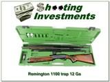 Remington 1100 Trap 12 Ga in case with 3 barrels
