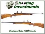 Winchester pre-64 Model 70 257 Roberts!