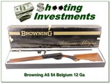 Browning A5 1957 Belgium 12 Ga 28in VR unfired!