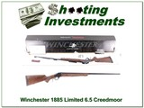 Winchester 1885 High Wall Hunter 6.5 Creedmoor Limited