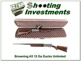 Browning A5 Ducks Unlimited 12 Gauge NIC!