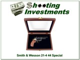 Smith & Wesson 21-4 44 Mag Thunder Ranch in Display Case