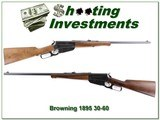 Browning 1895 30-06 Exc Condition!