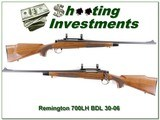 Remington 700 LH BDL 30-06