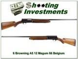 Browning A5 Magnum 12 Ga 66 Belgium 32in