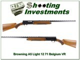 Browning A5 71 Belgium Light 12 Vent Rib