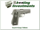 Court 9 Coup 7.65mm Exc Cond