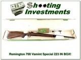 Remington 700 Varmint Special ANIB 223 Rem!