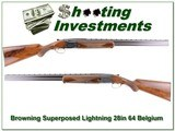 Browning Superposed Lightning 12 Ga 64 Belgium 28in!