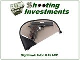 NightHawk Custom Talon II 45 ACP