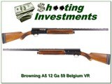 Browning A5 59 Belgium Light 12 VR