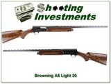 Browning A5 Light 20 VR 28in Mod XX Wood! - 1 of 4