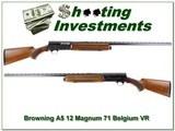 Browning A5 71 Belgium Magnum 12 Ga 32in Vent Rib