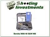 Beretta 9000 9000S 40 S&W NIB 2 magazines