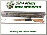 Browning BAR Grade II 243 1969 Belgium