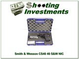Smith & Wesson Chief's Special CS40 40 S&W NIC