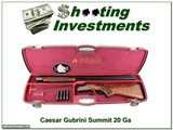 "Caesar Guerini Summit 20ga 32"" in case"