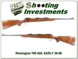 Remington 700 ADL early 30-06 Aluminum butt plate - 1 of 4
