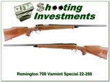 Remington 700 Varmint Special early 22-250 collector