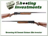 Browning A5 Sweet Sixteen 28in VR Invector Exc Cond