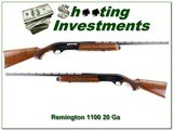 Remington 1100 20 Gauge 28in VR Modified