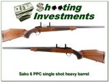 Sako 6 PPC single shot Heavy Barrel target rifle