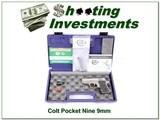 Colt Pocket Nine Series 90 Stainless 9mm NIC