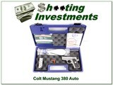 Colt Mustang Pocketlite Stainless 380 Auto NIC