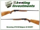 Browning 22 Auto 66 Belgium 22 SHORT!