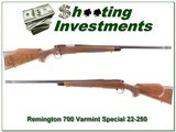 Remington 700 Varmint Special 22-250 near new!