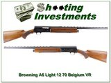 Browning A5 Light 12 70 Belgium 26in IC VR