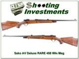 Sako AV Deluxe RARE 458 Winchester Magnum!