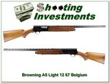 Browning A5 Light 12 67 Belgium unfired MINT!