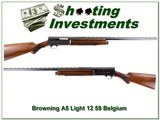 Browning A5 Light 12 59 Belgium VR Collector condition!