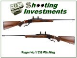 Ruger No.1 in 338 Winchester Magnum
