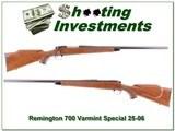 Remington 700 Varmnint Special early 25-06