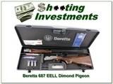 Beretta S 687 EELL Diamond Pigeon 28 Ga ANIC!