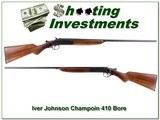 Iver Johnson Champion 410 Gauge Single Shot