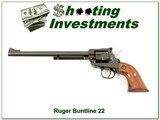 Ruger Single Six Buntline 22 LR and 22 Magnum Cylinders!