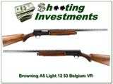 Browning A5 1953 Belgium Light 12 VR