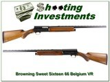 Browning A5 66 Belgium Sweet Sixteen 26in VR