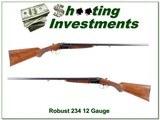 Robust Model 234 12 Gauge SxS 28in Exc Cond!