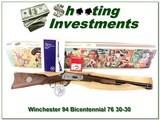 Winchester Bi-Centennial 76 30-30 20in NIB