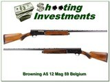 Browning A5 12 Magnum 32in Exc Cond