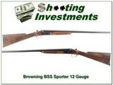 Browning BSS Sporter 12 Gauge 28in looks unfired!