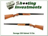 Savage Model 330 12 Gauge made by Valmet in Finland